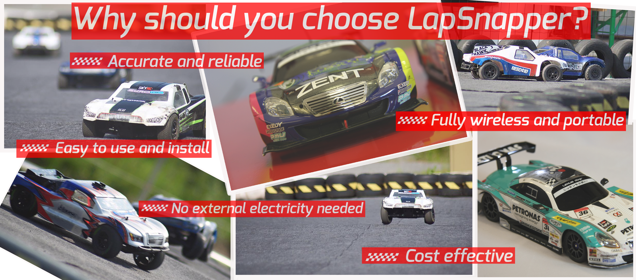 Why should you choose the LapSnapper
